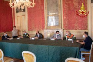 E' stata firmata stamane la convenzione tra Vigili del fuoco e Regione Sardegna per la Campagna antincendi boschiva 2020