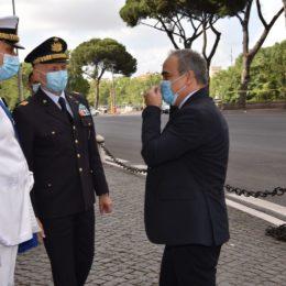 Giulio Calvisi (Difesa): «Oggi celebriamo la 102ª giornata della Marina Militare»