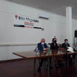 Anita Pili ed Alessandra Zedda: «La Regione ha sempre sostenuto i lavoratori e l'azienda Sider Alloys per il riavvio dell'attività»