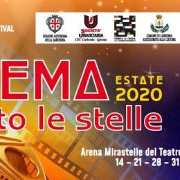 """Questa sera, alle ore 21.30, presso l'Arena Mirastelle, a Carbonia, inizia la rassegna """"Cinema Sotto le Stelle 2020"""""""
