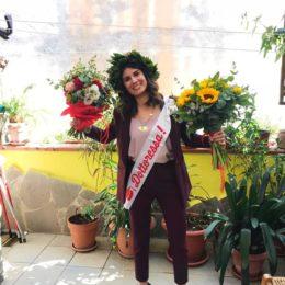 Villacidro: la laurea a distanza di Giorgia Casu