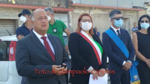 Si è svolta questa mattina, a Villamassargia, la cerimonia di intitolazione ad Emanuela Loi, della Rotatoria all'ingresso del paese