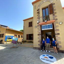Al via la stagione Bandiera Blu a Maladroxia, il servizio di Infopoint turistico e di salvamento a mare