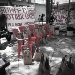 Gli studenti universitari di Cagliari hanno sospeso l'occupazione della mensa di via Trentino
