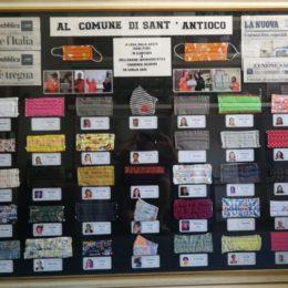 """L'OPI di Carbonia Iglesias consegnerà venerdì mattina, alle 11.00, al sindaco di Sant'Antioco, il quadro che racchiude l'opera delle 34 sarte """"Mani d'Oro"""""""