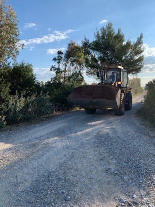 Sono stati completati, a Carbonia, numerosi interventi di sistemazione di strade bianche ad elevata criticità