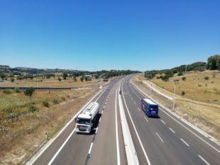 E' stato riaperto al traffico un nuovo tratto di 2 km della Sassari-Olbia