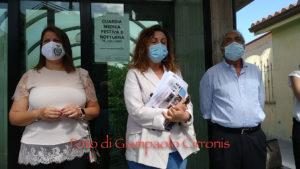 Seconda tappa, a Buggerru, della protesta itinerante dei Sindaci del Sulcis Iglesiente sui disservizi del sistema sanitario