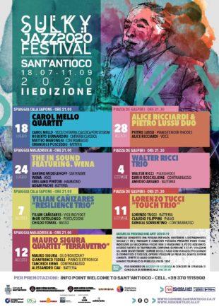 Da domani 18 luglio, con il Sulky Jazz Festival, torna la grande musica jazz a Sant'Antioco – di Federica Selis