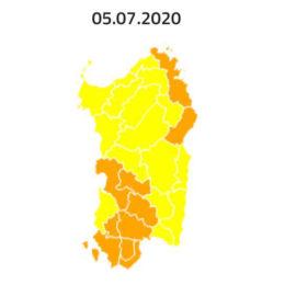 Allerta incendi anche domani, domenica 5 luglio, in Sardegna