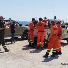 Si è concluso stamane il corso AIB per 6 volontari della Protezione civile di Sant'Antioco, Sant'Anna Arresi e Carloforte