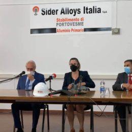 Vertice alla Sider Alloys con la sottosegretaria del Mise Alessandra Todde