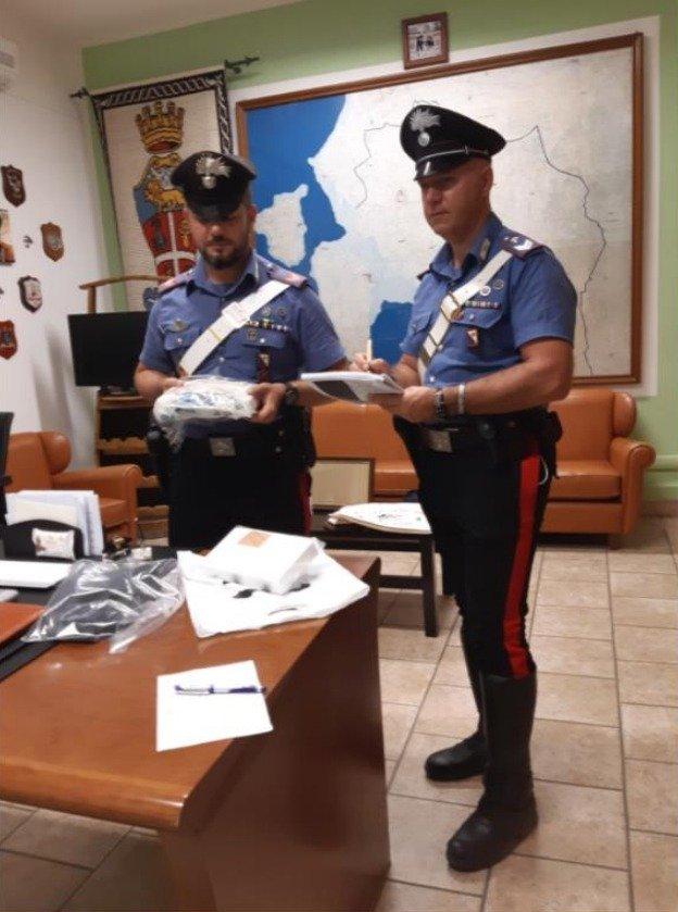 Viaggiava sulla SS 293 con 2,137 kg di cocaina, arrestato dai CC di Carbonia un 39enne disoccupato di Villaperuccio