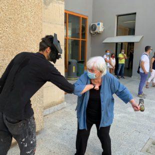"""Monserrato: ecco """"Horizons"""", il murale di Manu Invisible per l'Università di Cagliari"""