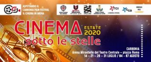 """Martedì 4 agosto, a Carbonia, il quinto appuntamento della rassegna """"Cinema Sotto le Stelle"""""""