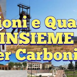 FrAzioni e Quartieri INSIEME per Carbonia, per migliorare le politiche pubbliche cittadine e la qualità di vita della comunità