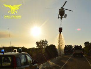 """Si sono concluse alle 15.30, a Villamassargia, le operazioni di spegnimento dell'incendio sviluppatosi in località""""Podere N. 4"""""""