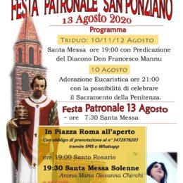 Il 13 agosto Maria Giovanna Cherchi animerà la Messa per la festa di San Ponziano, patrono di Carbonia, e si esibirà in piazza Roma