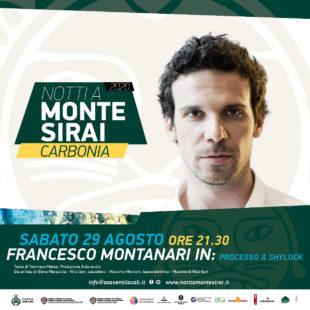 """Si conclude sabato 29 agosto, a Carbonia, la rassegna """"Notti a Monte Sirai"""""""