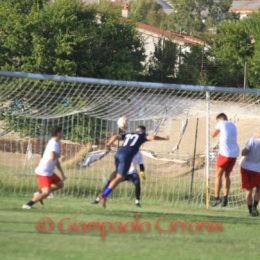 Un goal del giovane Daniele Cannas ha segnato il risultato dell'amichevole Carbonia-Guspini