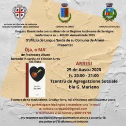 """Questa sera, alle 20.00, al centro di aggregazione sociale di Sant'Anna Arresi, verrà presentato il libro O""""ja, o Ma…"""""""