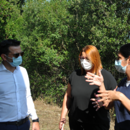 L'assessore dell'Ambiente Gianni Lampis a Villamassargia: «Gravi danni per il maltempo, la Regione è vicina all'Amministrazione comunale»