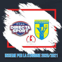Directa Sport e Villacidrese Calcio insieme per la stagione 2020/2021