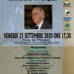 Venerdì 25 settembre, a Bacu Abis, è stato ricordato il dottor Enrico Pasqui