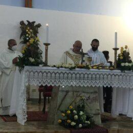 La comunità di Buggerru in festa per il 25° dell'ordinazione presbiteriale i don Marco Angius