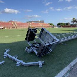 Sono ripresi i lavori di messa in sicurezza dello stadio Comunale di Sant'Antioco, è previsto un investimento di 1 milione di euro