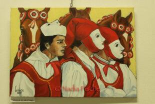 """""""Caras e Caratzas"""", fino a domenica 25 ottobre in mostra, a Carbonia, le opere dell'artista Lorenzo Cuccuru"""