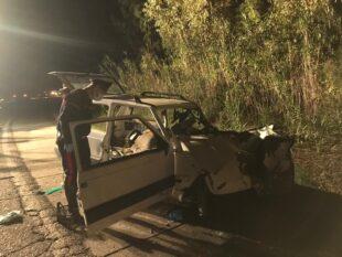 Grave incidente stradale, ieri sera, sulla strada provinciale SP 75, nei pressi di San Giovanni Suergiu