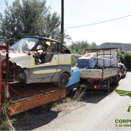 Sequestrata un'officina meccanica a Santadi, il titolare deferito per diverse violazioni alla normativa ambientale