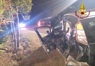Incidente stradale sulla SP 2 Villamassargia-Carbonia, una persona ricoverata al Sirai in codice rosso