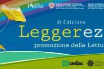 """Promozione alla lettura: al via domani, 27 novembre, il progetto """"Legge_rezza 2020"""""""
