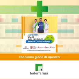 Antibiotici, usarli non è un gioco: scende in campo Federfarma. Tutte le farmacie della Sardegna distribuiranno i dépliant e le brochure della campagna