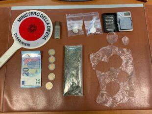 I carabinieri di Iglesias hanno arrestato un 41enne per detenzione finalizzata allo spaccio di sostanze stupefacenti