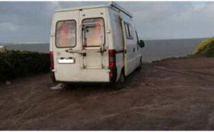 Il Corpo forestale è impegnato ad impedire il parcheggio e la sosta abusiva dei camper nelle coste del Sulcis Iglesiente