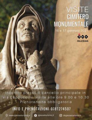 Anche questo fine settimana il comune di Iglesias propone le visite guidate presso il Cimitero monumentale